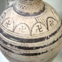 Ancient Swastika on Corinthian pot 200x200 Ancient Swastika