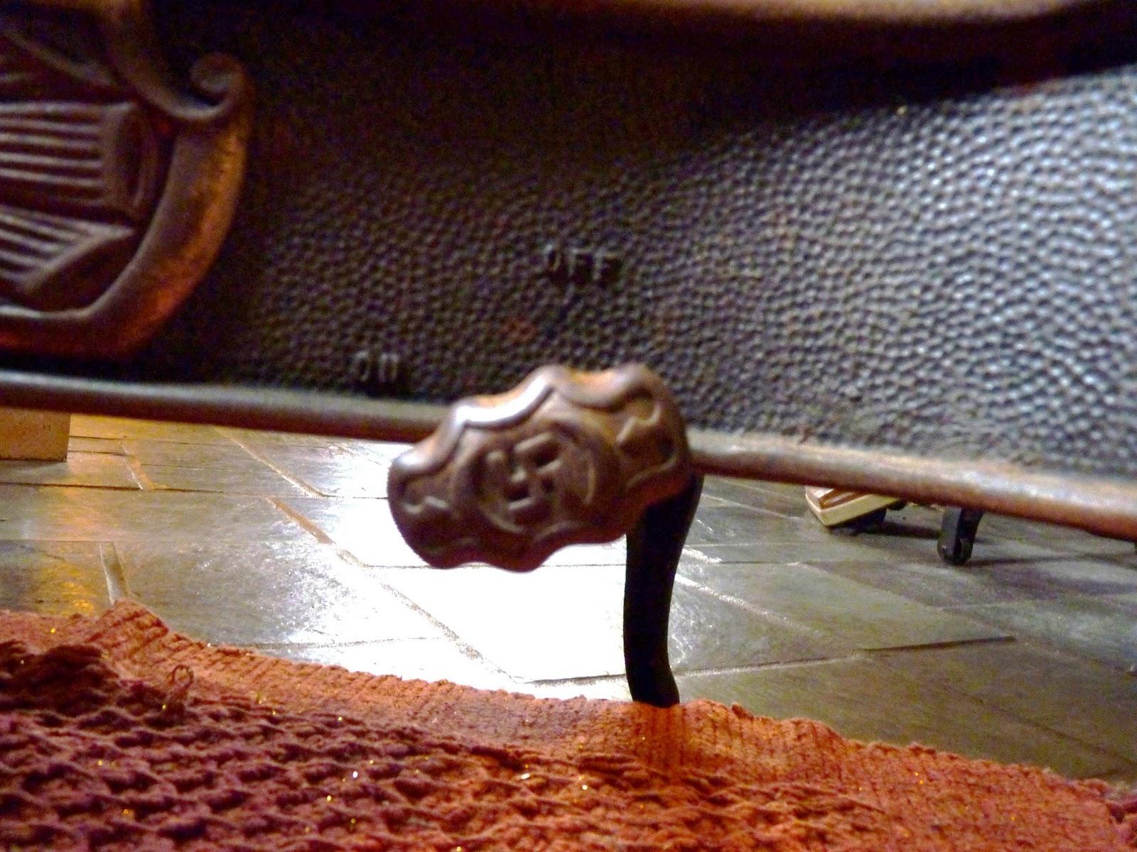 Antique Heater Handle Swastika