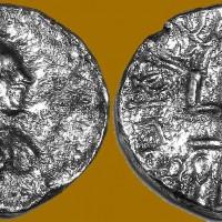 Bagamira silver drachm c. 150 CE 200x200 Ancient Swastika