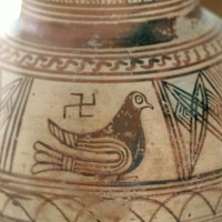 Bird and Swastika Cemetery of Ancient Thera 200x200 Ancient Swastika