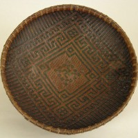Chinese Offering Tray with Sanskrit Buddhist 200x200 Ancient Swastika