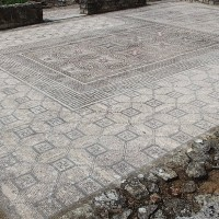 Conímbriga Roman Settlement 200x200 Ancient Swastika