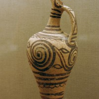 Jug with spirals Akrotiri 200x200 Ancient Swastika