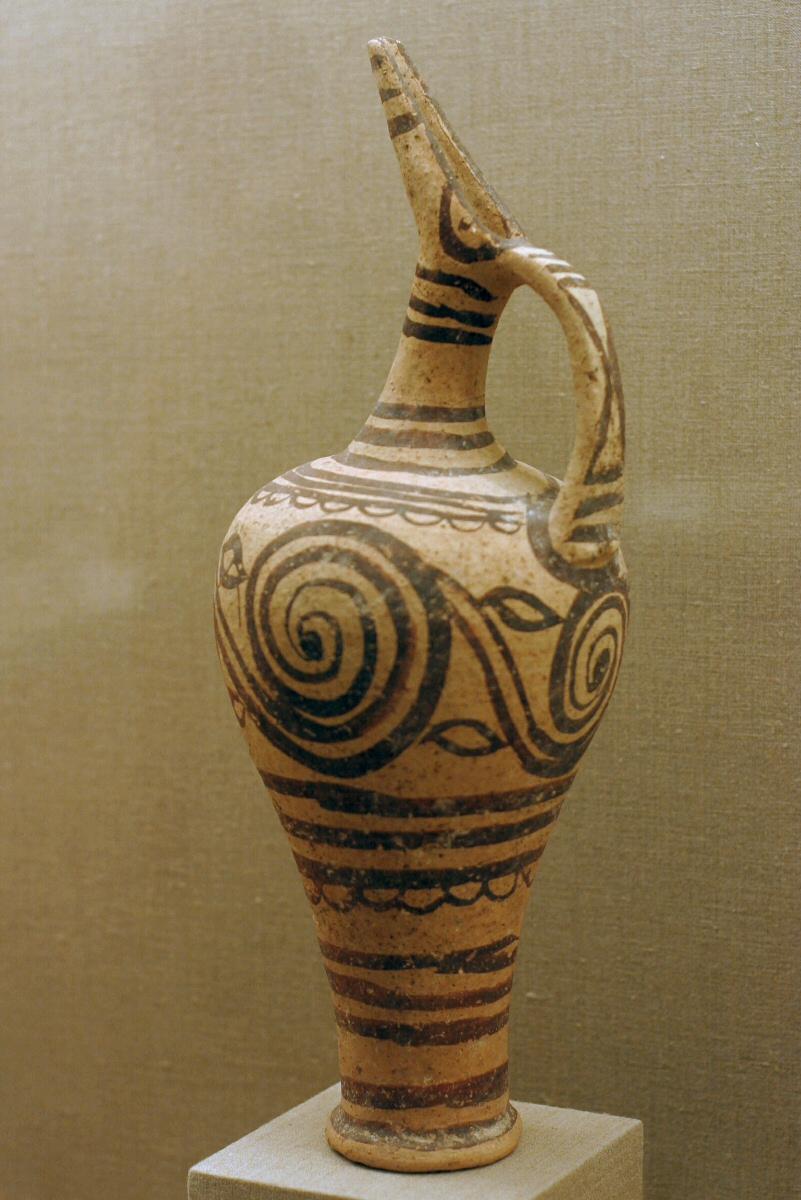 Jug with spirals, Akrotiri