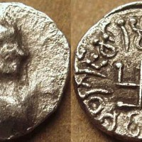 Mirahvara silver hemidrachm c. 175 185 CE 200x200 Ancient Swastika