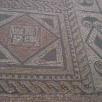 Mosaic Swastika 200x200 Ancient Swastika