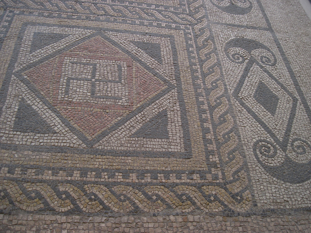 Mosaic Swastika