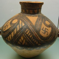 Neolithic Pottery Jar with Swastika 200x200 Ancient Swastika
