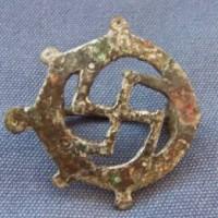 Roman Bronze Swastika Brooch 200x200 Ancient Swastika