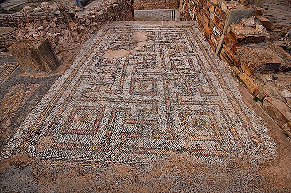 Thuburbo Majus (or Thuburbo Maius) is a large Roman site in northern Tunisia