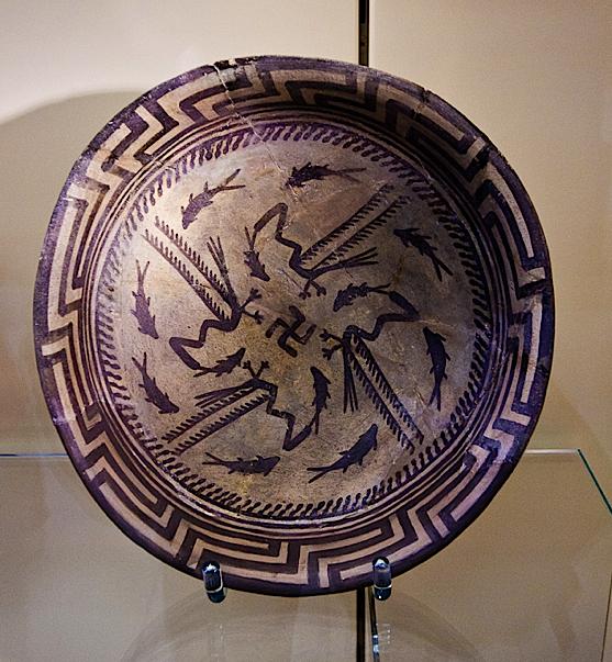 ancient swastica bowl