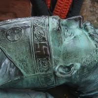 bronze statue swastica 200x200 Ancient Swastika
